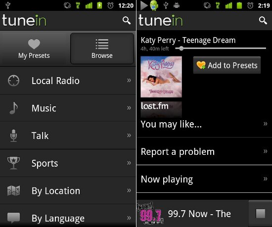 tunein-radio-pro-android
